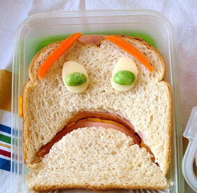 Забавные бутерброды (32 фото)