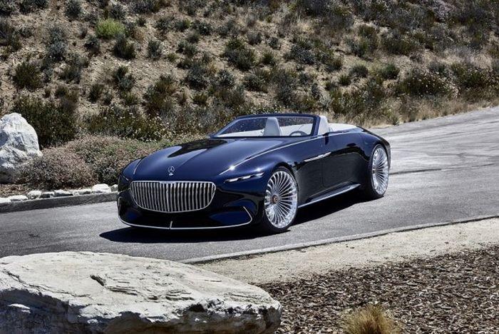 Daimler представил концептуальный кабриолет Vision Mercedes-Maybach 6 (15 фото)