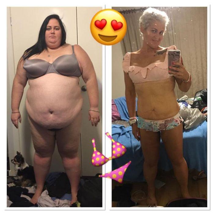 Австралийка увлеклась триатлоном и похудела на 115 кг (8 фото)