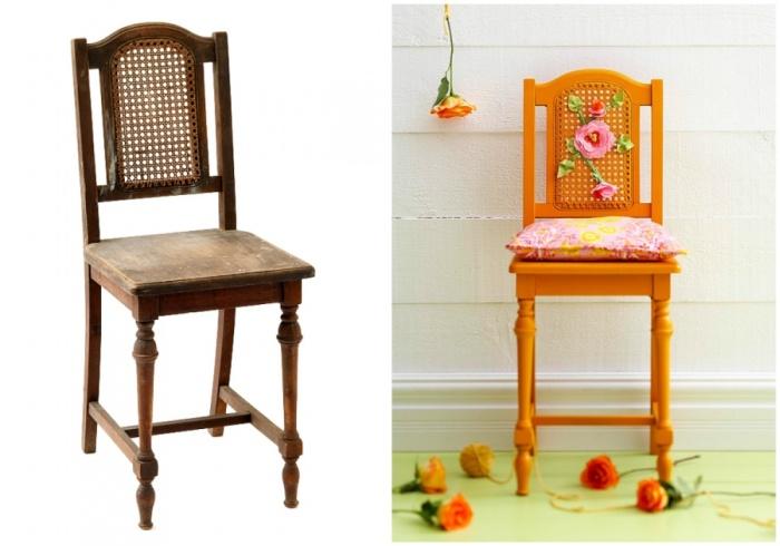 Вторая жизнь для старой мебели (15 фото)