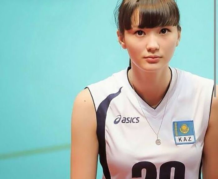 Очаровательная казахская волейболистка Сабина Алтынбекова (20 фото)