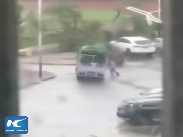 Китай пережил сильнейший за 50 лет тайфун