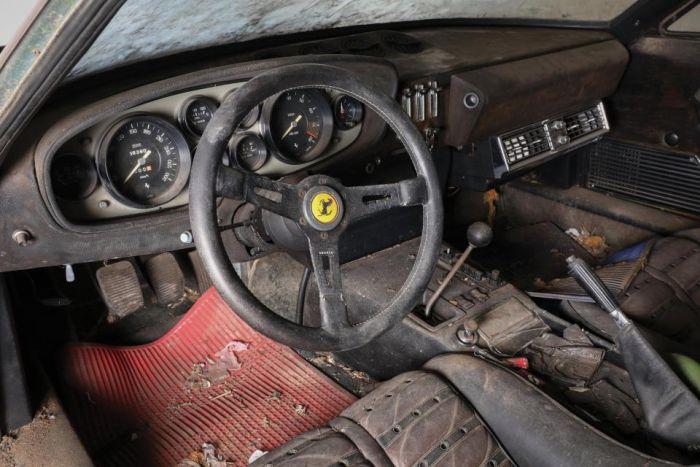В Японии найден забытый спорткар Ferrari Daytona 1969 года стоимостью более 1,5 млн евро (6 фото)