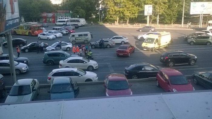 Житель Челябинска спас жизнь мужчине, у которого случился приступ (2 фото)