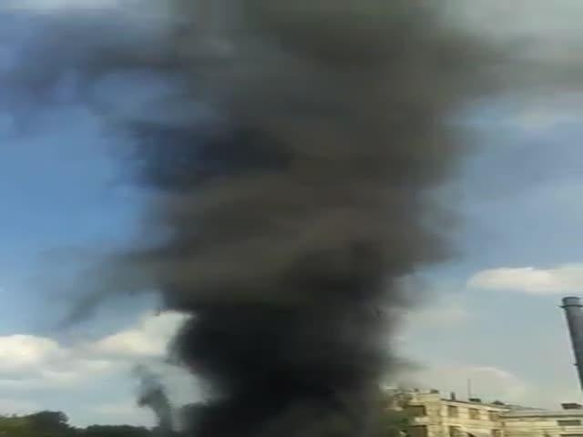 Угольный торнадо в Челябинске