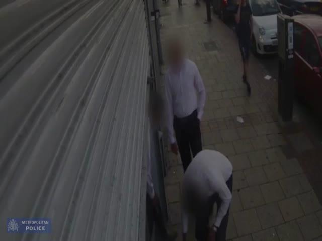 Ограбление ювелирного магазина в Лондоне