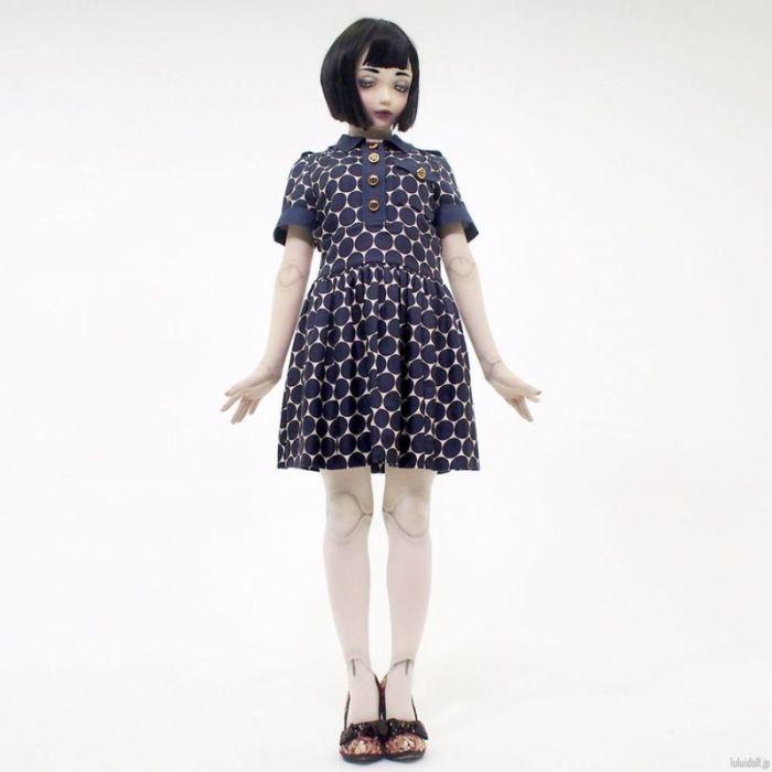"""Лулу Хашимото - необычная """"живая"""" кукла Японии (14 фото)"""