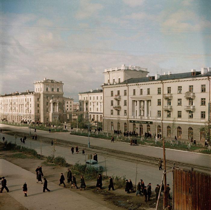 Нижний Тагил в 50-х годах прошлого века (25 фото)