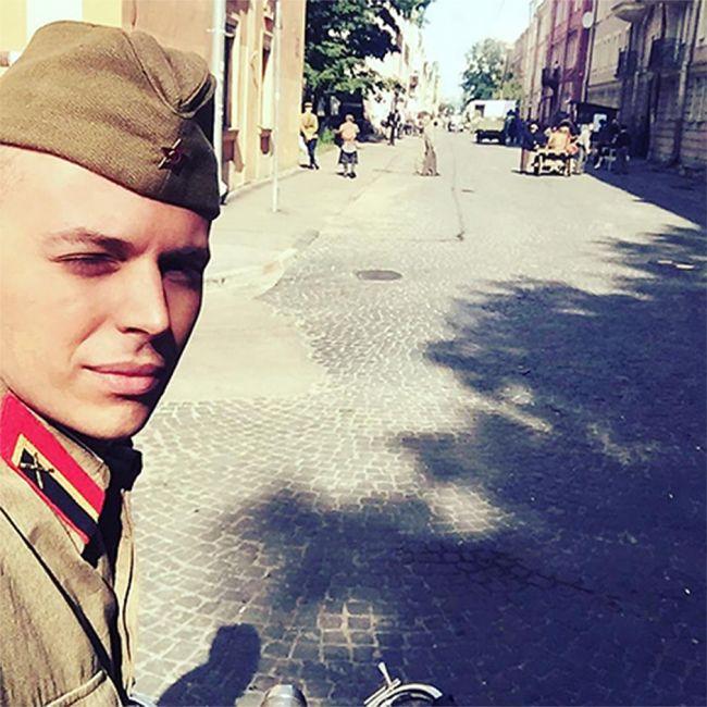 Внук Андрея Миронова дебютирует на большом экране (5 фото)