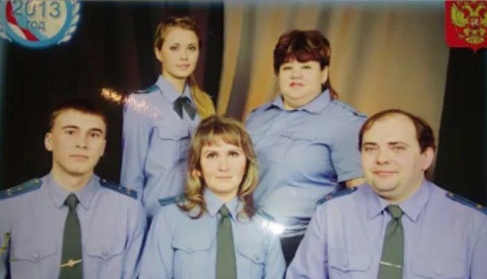Подчиненные опубликовали скандальные фото подполковника МВД Веры Ивановой (5 фото)