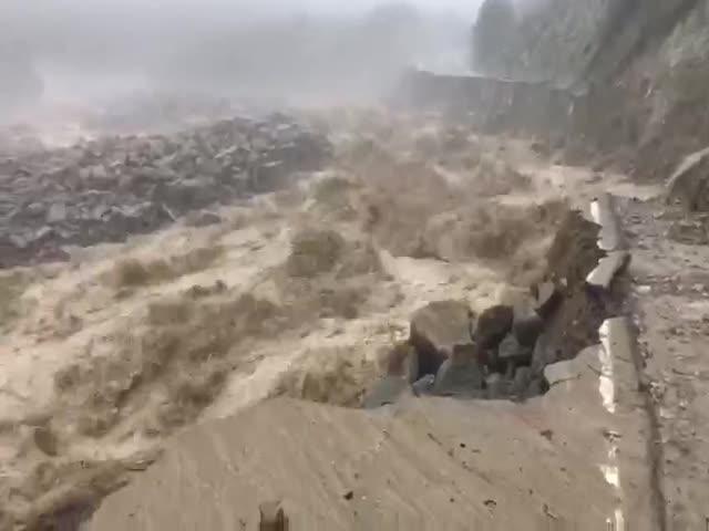 Сход селя в Кабардино-Балкарии