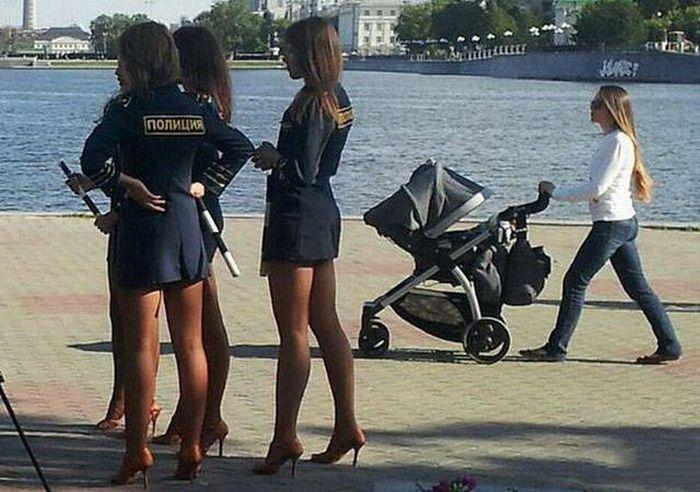 Фотографии, которые можно сделать только в России (40 фото)
