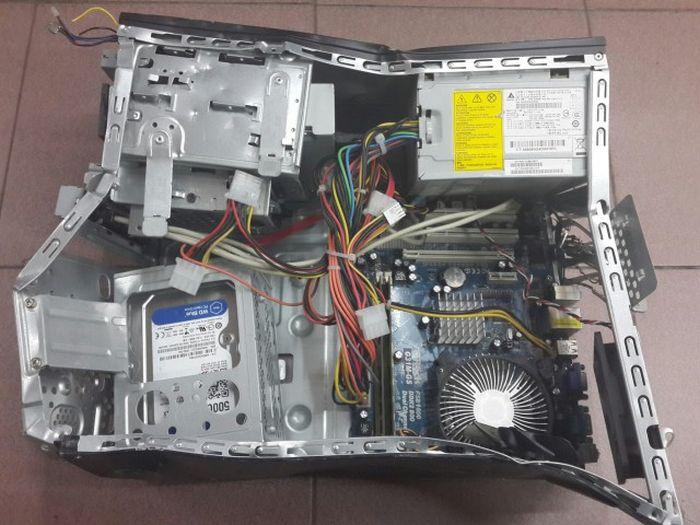 Случай из сервиса по ремонту компьютеров (4 фото)