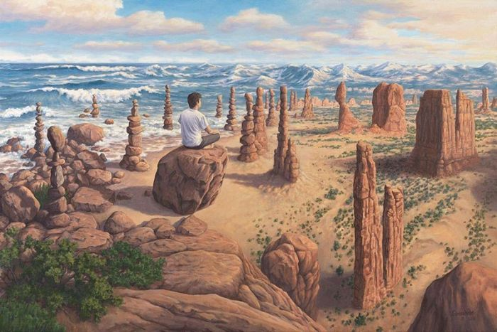 Необычные картины Роба Гонсалвеса (11 рисунков)