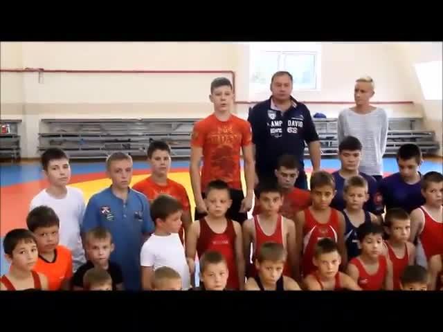 Обращение воспитанников ДЮСШ «Олимп» к Путину