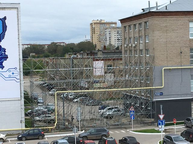 В Перми к приезду Путина «возвели» новую улицу (4 фото)