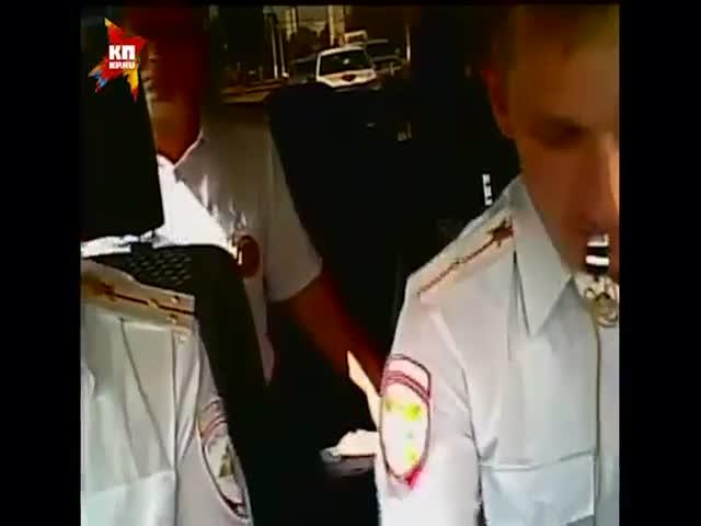 Погоня за пьяным водителем в Волгограде