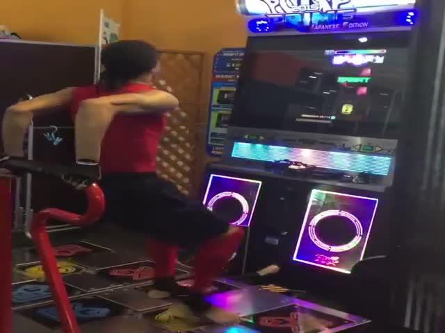 Мастер танца 80 уровня