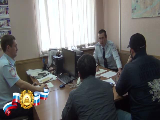 В Красноярске привлекли к ответственности автохама на «Приоре»