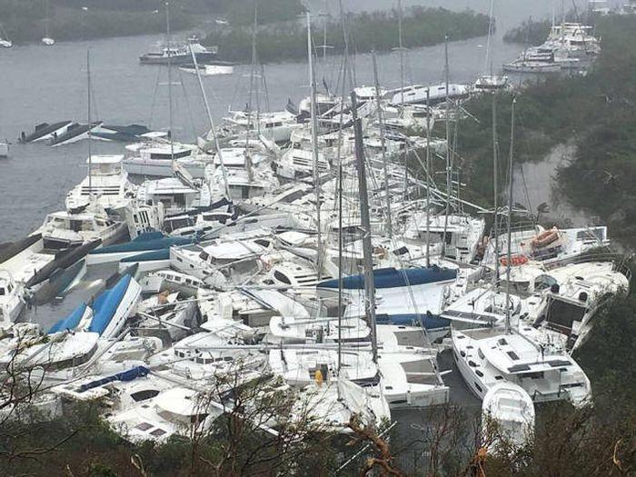 Последствия урагана «Ирма» (16 фото)