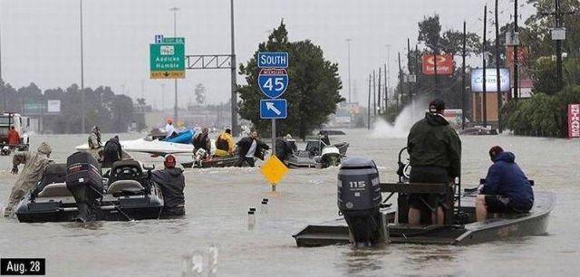 Быстрое восстановление после наводнения (2 фото)