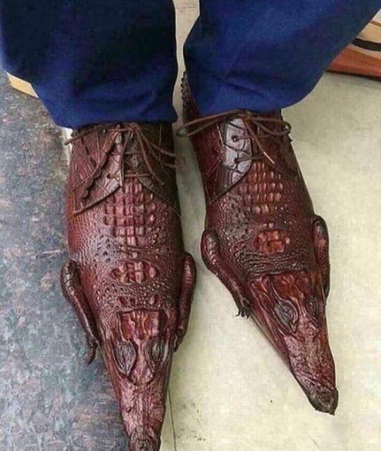 Необычные дизайнерские туфли за полмиллиона рублей (2 фото)