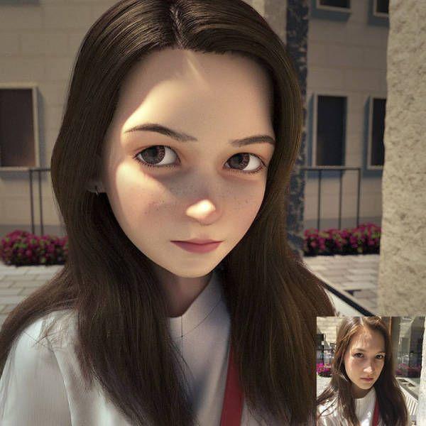 Портреты людей в анимационном стиле (30 фото)
