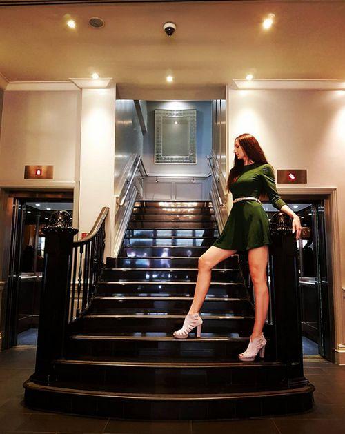 Екатерина Лисина признана самой высокой моделью в мире и женщиной с самыми длинными в мире ногами (14 фото)