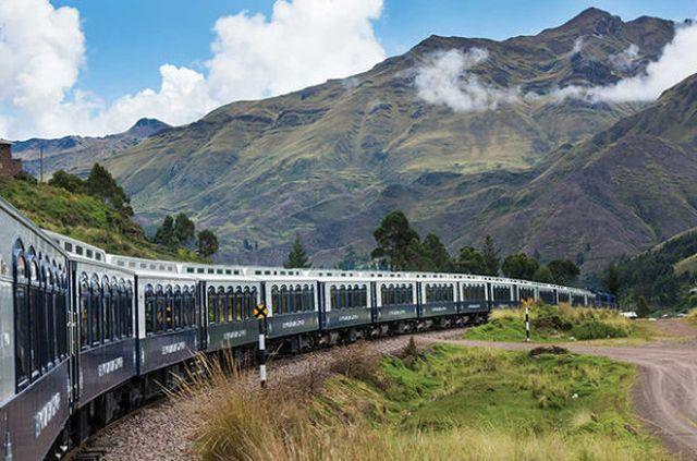 В Южной Америке запустили экскурсионный поезд-отель Belmond Andean Explorer (11 фото)