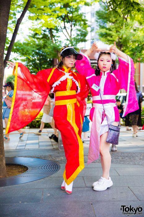 Модники с улиц Токио (34 фото)