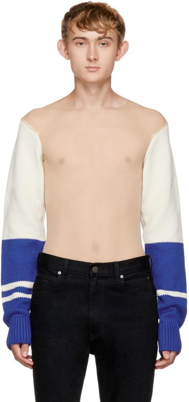 Прозрачный свитер с рукавами оценили в 1800 евро (3 фото)