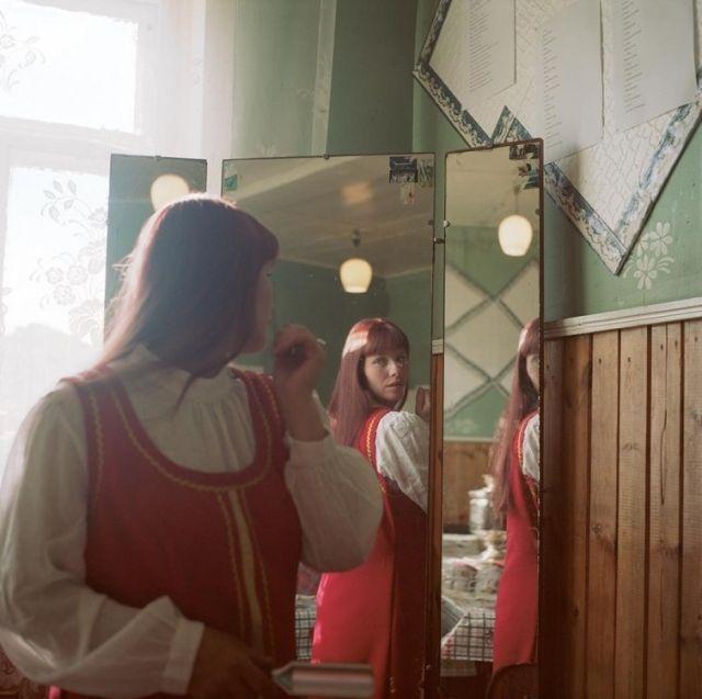 Жительницы российских деревень в душевных фотографиях Ольги Ивановой (40 фото)