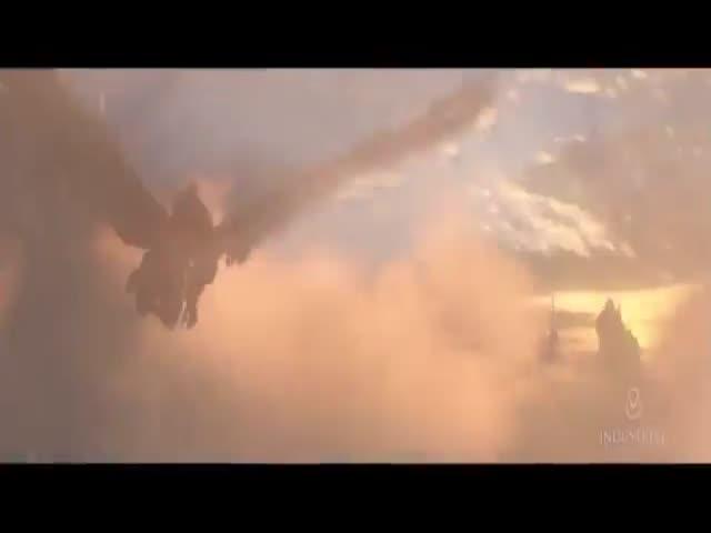 Сцены из кинофильмов со спецэффектами и без них