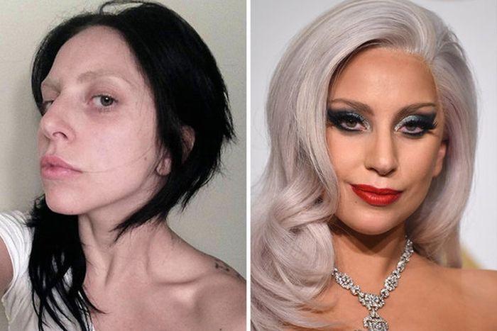 Звезды без макияжа (40 фото)