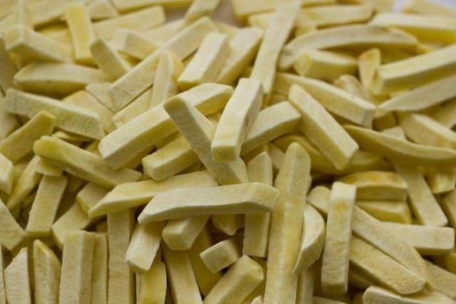 Фокус с исчезновением замороженного картофеля для жарки (4 фото)
