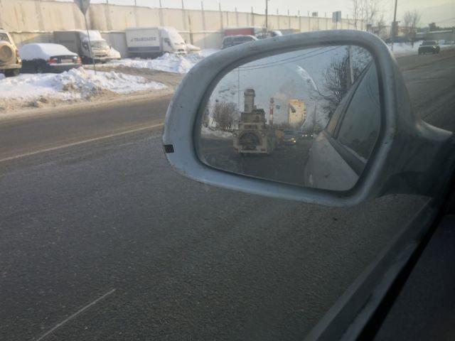 Необычный транспорт на нашей дороге (3 фото)
