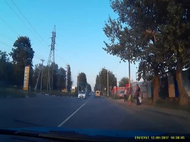 В Таганроге едва не произошла страшная авария