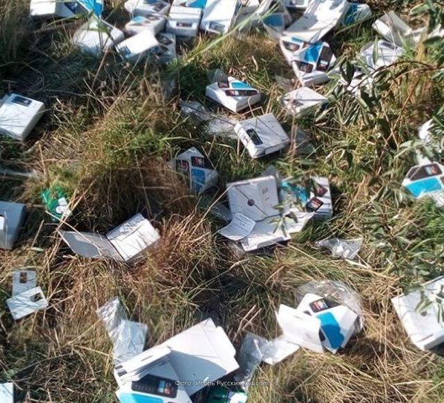 Под Ростовом-на-Дону снова обнаружены вскрытые посылки (4 фото)