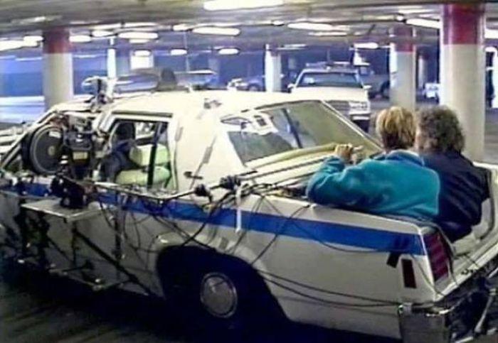 """Кадры со съёмочной площадки фильма """"Терминатор 2: Судный день"""" (39 фото)"""