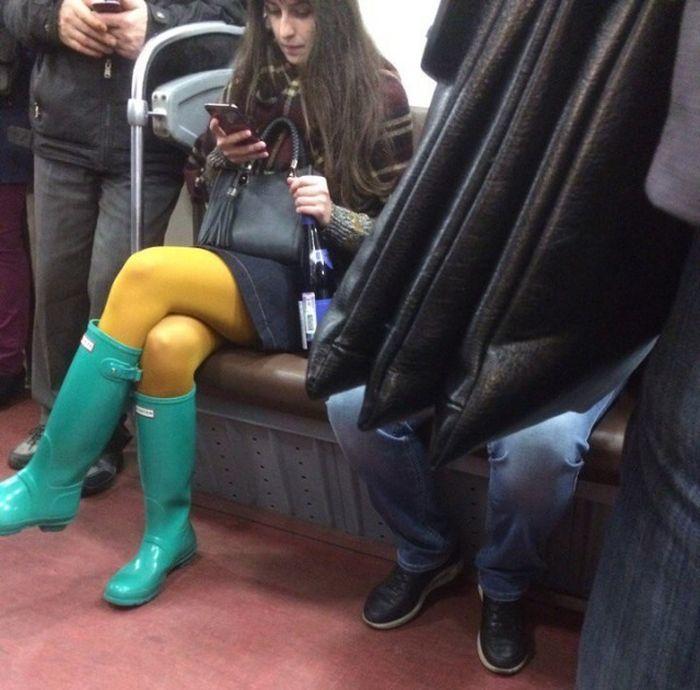 Модники российского метро (30 фото)