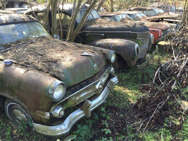 Old Car City - свалка классических автомобилей в США (14 фото)