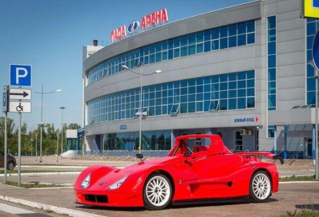 Гоночный спайдер Lada Revolution выставлен на продажу (5 фото)