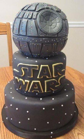 """Свадебный торт в стиле """"Звездных войн"""" от наших кондитеров (2 фото)"""