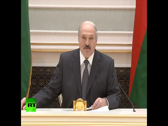 Лукашенко о санкциях, Западе и России