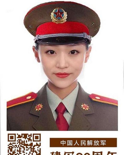 Девушки армии Китая (13 фото)