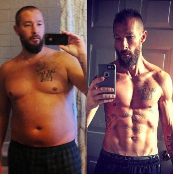 знакомый похудел на 30 кг