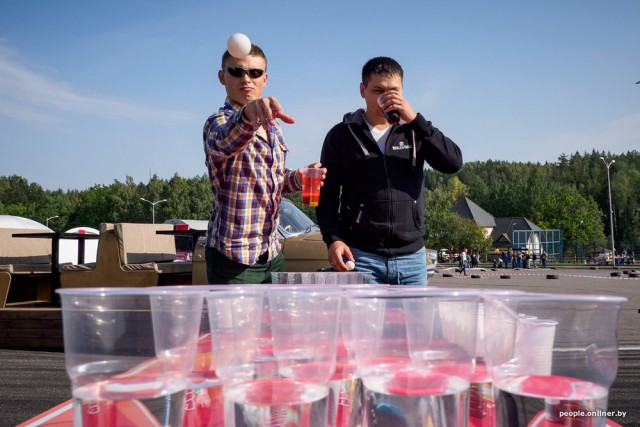 «АктоӮбэрФэст» - белорусский аналог «Октоберфеста» в Логойске (38 фото)