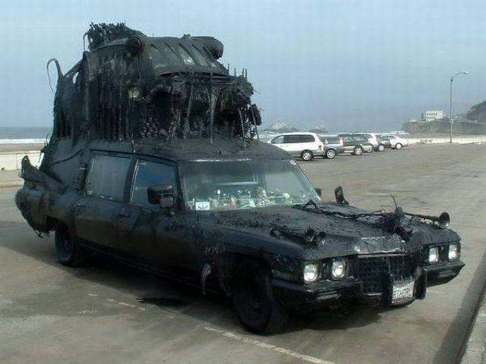 Странные автомобили (32 фото)
