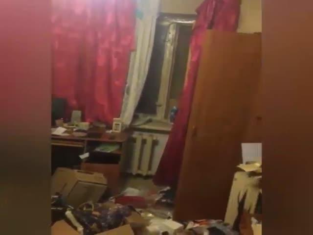 Видео с квартиры краснодарских каннибалов