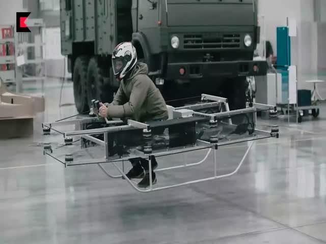 Концерн «Калашников» испытал концепт нового летательного аппарата
